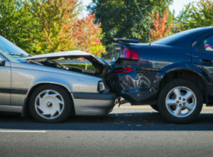 Read end car accidents RI