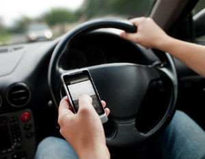 Rhode Island distracted driving accidents