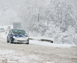 Icy road car accidents in Rhode Island