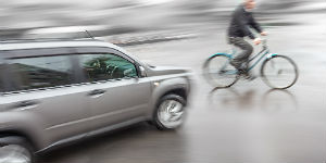 Rhode Island Bicycle and Car Accident