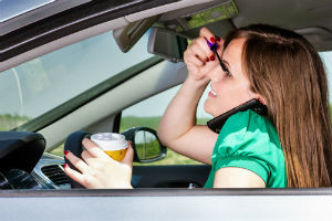 Car Accidents Caused by Bizarre Distracted Driving